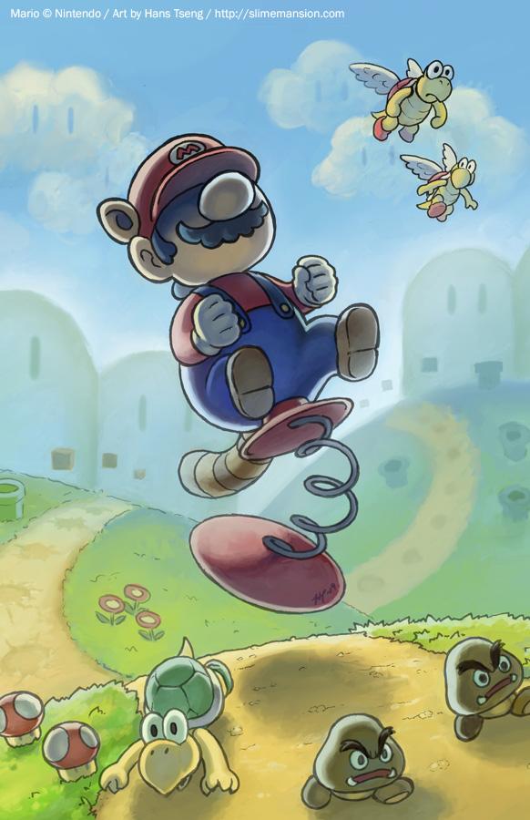 Mario Spring Toy
