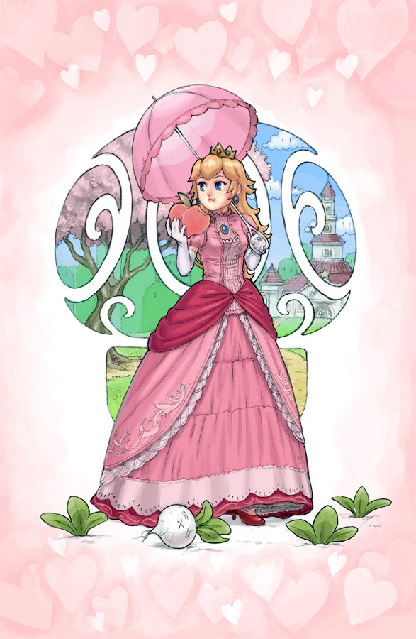 Princess Peach (from Mario and Smash Bros. series)