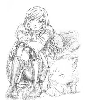 Azalea Sketches